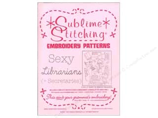 Sublime Stitching Sublime Stitching Woven Label: Sublime Stitching Embroidery Transfers Sexy Librarians