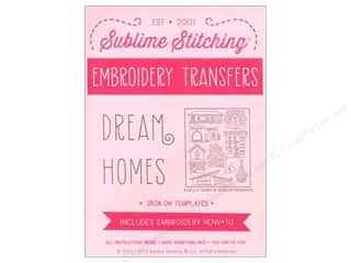 Sublime Stitching: Sublime Stitching Embroidery Transfers Dream Homes
