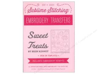 Sublime Stitching Embroidery Transfers Sweet Treats