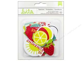 Scrapbooking: American Crafts Die Cut Shapes Summer Sunscreen