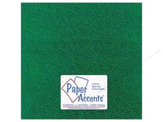 Accent Design Vinyl: Paper Accents Adhesive Vinyl 12 x 12 in. Sparkle Green (12 piece)