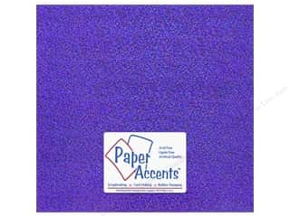 Accent Design Vinyl: Paper Accents Adhesive Vinyl 12 x 12 in. Sparkle Purple (12 piece)