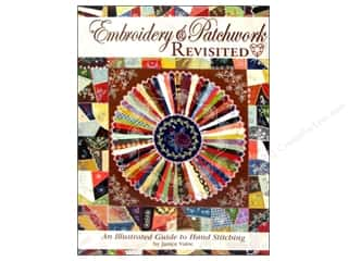 Landauer Quilt Books: Landauer Embroidery & Patchwork Revisited Book