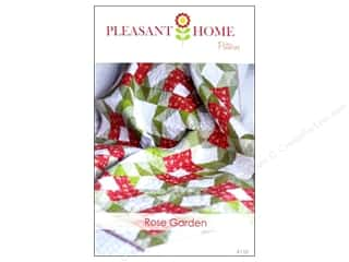 Pleasant Valley Creations Fat Quarter / Jelly Roll / Charm / Cake Patterns: Pleasant Home Rose Garden Quilt Pattern
