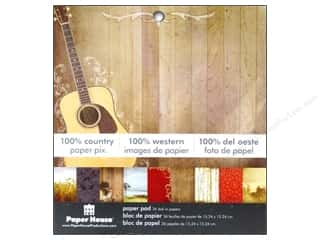 "Weekly Specials Artistic Wire: Paper House Paper Pad 6"" 100% Country"
