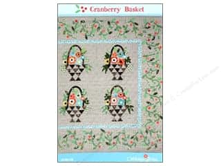 Pattern Basket, The: Cabbage Rose Cranberry Basket Pattern