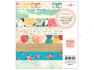 Crate Paper inches: Crate Paper Pad 6 x 6 in. Maggie Holmes Styleboard 36 pc.
