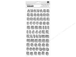 American & Efird $0 - $4: American Crafts Thickers Alphabet Stickers Boys Rule Chalkboard