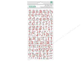 Thickers Alphabet Stickers Garden Party Bliss