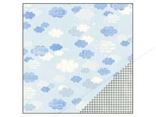 "Baby Clearance: Pebbles Paper 12""x 12"" Special Delivery Boy Sweet Dreams (25 pieces)"