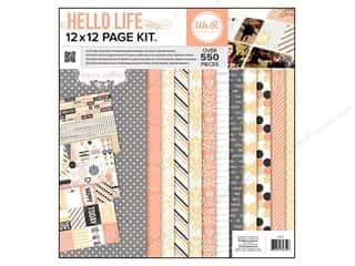 Authentique Scrapbooking Kits / Page Kits: We R Memory Page Kit Hello Life