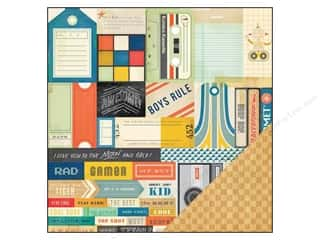 Crate Paper 12 x 12 in. Paper Boys Rule Cool Kid
