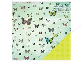 "Think Pink Brown: Studio Calico Paper 12""x 12"" Lemonlush Flighty (25 pieces)"