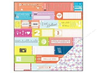 Scrapbooking: Studio Calico Paper 12x12 Lemonlush Loyalty (25 piece)