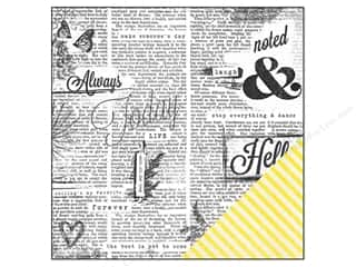 "Studio Calico Captions: Studio Calico Paper 12""x 12"" Lemonlush Wordsmith (25 pieces)"