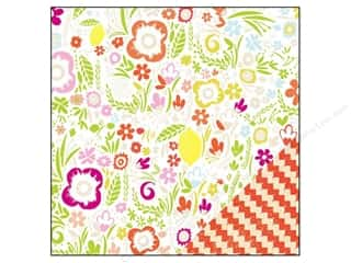 "Zig Clearance Patterns: Studio Calico Paper 12""x 12"" Lemonlush Eccentric (25 pieces)"