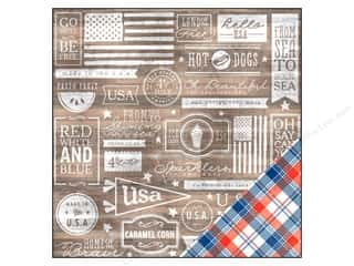Pebbles Paper 12x12 Americana Home Of The Brave