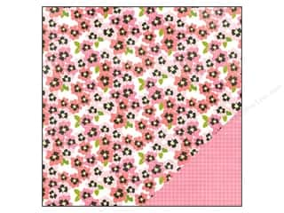 "Pebbles Inc Note Cards: Pebbles Paper 12""x 12"" Garden Party Pansy (25 pieces)"