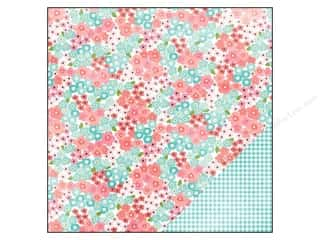 Pebbles Paper 12x12 Garden Party Azalea (25 piece)