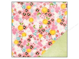 Pebbles Paper 12x12 Garden Party Rosebud (25 piece)