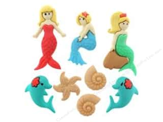 Jesse James Buttons Novelty Buttons: Jesse James Dress It Up Embellishments Splish Splash