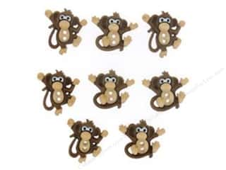 Jesse James Embellishments Sew Cute Monkeys