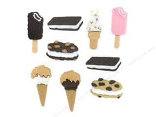 Jesse James Buttons Novelty Buttons: Jesse James Dress It Up Embellishments Freezer Treats