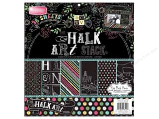 Die Cuts 12 x 12 in. Cardstock Mat Stack Chalk Art