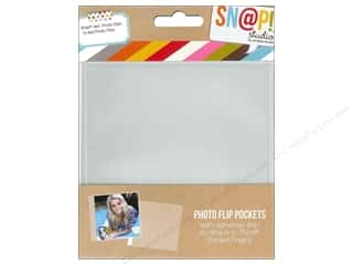 "Simple Stories Pockets & Page Protectors: Simple Stories Pockets Snap Photo Flip 4""x 4"""