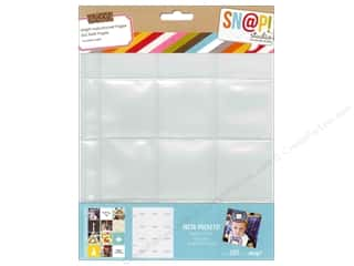 Page Protectors Simple Stories Page Protector: Simple Stories Insta Snap Pocket Page 2x2