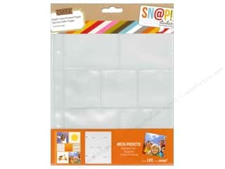 Page Protectors Simple Stories Page Protector: Simple Stories Insta Snap Pocket Page 2x2/3x3