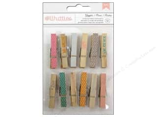 American Crafts Clothespins 12 pc. Giggles