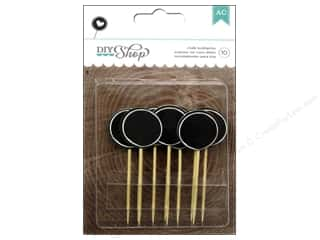 American Crafts Toothpicks DIY Shop Chalkboard Circles