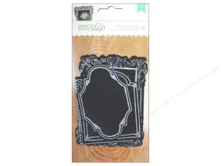 American Crafts 10 Yards: American Crafts Diecut Frames 10 pc. DIY Shop Chalkboard