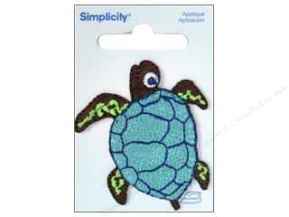 Simplicity Trim Irons: Simplicity Appliques Iron On Sea Turtle