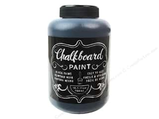 Paints: American Crafts DIY Shop Chalkboard Paint 16 1/2 oz. Black