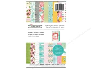 "Spring Patterns: Pebbles Paper Pad Garden Party 5.5""x 8.5"" 36pc"