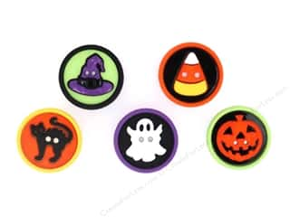 Jesse James Buttons Novelty Buttons: Jesse James Embellishments Sew Fun Halloween