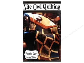 Prairie Sky Quilting Clearance Patterns: Nite Owl Quilting Sunrise Stag Pattern