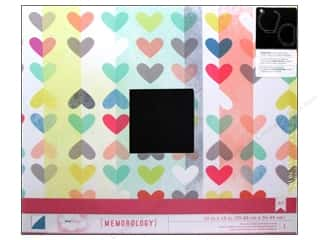 American Crafts 3-Ring Album 12 x 12 in. Hearts