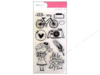 "Files 10"": American Crafts Clear Stamps Dear Lizzy Daydreamer"