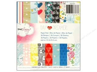 American Crafts 6 x 6 in. Paper Pad Daydreamer