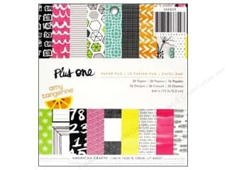 American Crafts 6 x 6 in. Paper Pad Plus One