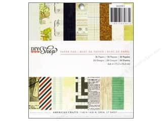 American Crafts Sheets: American Crafts 6 x 6 in. Paper Pad DIY Shop