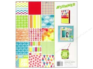 Sizzling Summer Sale Mary Ellen: American Crafts 12 x 12 in. Paper Pad #Summer