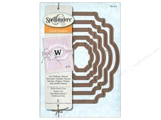 Dies $15 - $18: Spellbinders Die Nestabilities Belly Band One