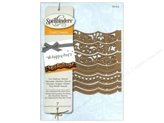 Borders: Spellbinders Borderabilities Die A2 Border Scallop 2