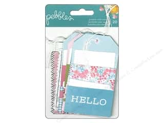 Captions Spring: Pebbles Embellishment Garden Party Pocket With Insert