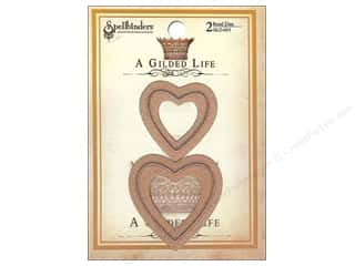Weekly Specials Resin & Bezels: Spellbinders Die Gilded Life Bezel Hearts
