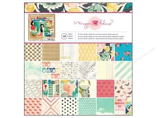 American Crafts Animals: Crate Paper Pad 12 x 12 in. Maggie Holmes Styleboard 48 pc.